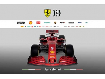 全新SF1000—向法拉利车队第1000场F1大奖赛致敬